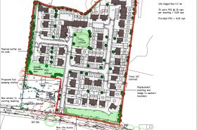 Planning application for 70 dwellings submitted in Loggerheads