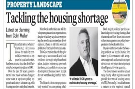 Top-down approach needed to tackle the housing shortage